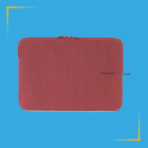 Custodia in neoprene per laptop tucano rossa