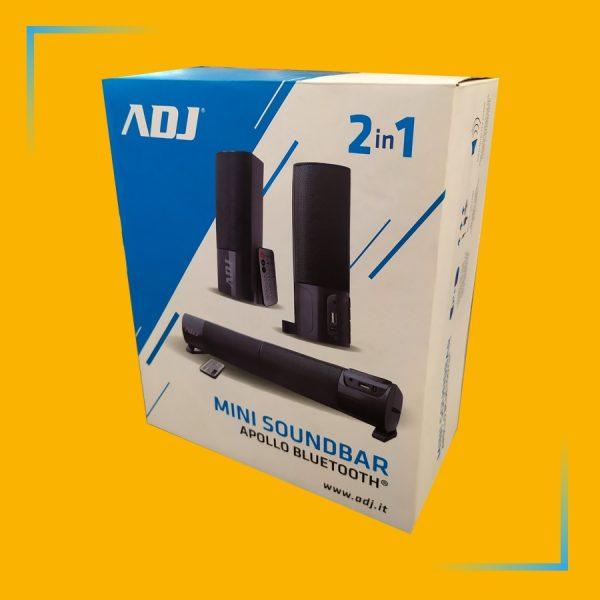 adj mini soundbar apollo bluetooth